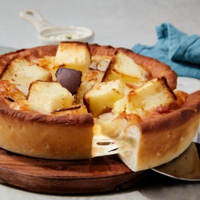 애슐리 치즈케이크 딥디쉬 피자